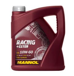 Моторное масло Mannol Racing + Ester 10W-60 (4 л.) 4037