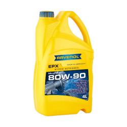 Трансмиссионное масло Ravenol EPX 80W-90 (4 л.) 1223205004