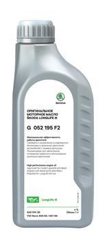 Моторное масло Volkswagen (VAG) LongLife III Skoda 5W-30 (1 л.) G052195F2