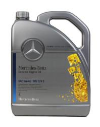 Моторное масло Mercedes MB229.5 EU 5W-40 (5 л.) A000989920213AIFE