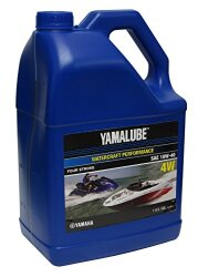 Масло четырехтактное Yamaha Yamalube Watercraft Performance Four Stroke 4W 10W-40 (3,78 л.) LUB-10W40-WV-04