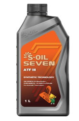 Трансмиссионное масло S-oil SEVEN ATF III (1 л.) E107993