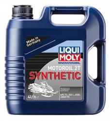 Масло двухтактное Liqui Moly Snowmobil Motoroil 2T Synthetic L-EGD 4 (4 л.) 2246