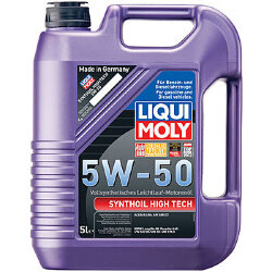 Моторное масло Liqui Moly SynthOil High Tech 5W-50 (5 л.) 9068