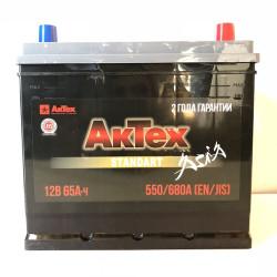 Аккумулятор АкТех Standart Asia 65Ah 680A 235x175x221 о.п. (-+) ATSTA653R