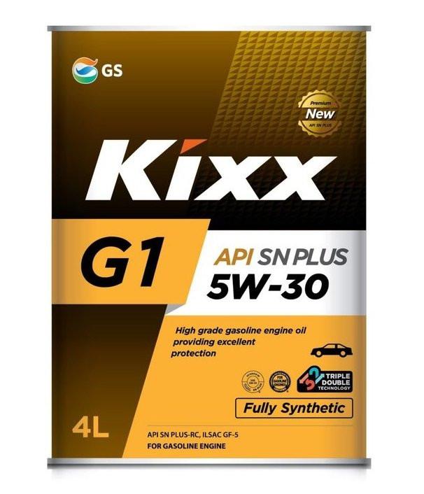 Моторное масло Kixx G1 5W-30 SN Plus (4 л.) L210144TE1
