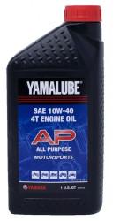 Масло четырехтактное Yamaha Yamalube Performance All Purpose 10W-40 (1 л.) LUB-10W40-AP-12