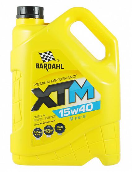 Моторное масло Bardahl XTM 15W-40 (5 л.) 36263