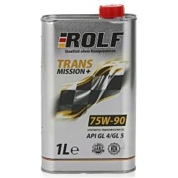 Трансмиссионное масло Rolf Transmission Plus 75W-90 (1 л.) 322282