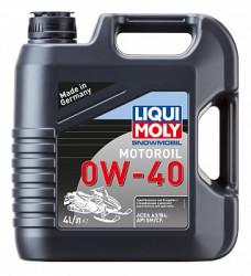 Масло четырехтактное Liqui Moly Snowmobil Motoroil 0W-40 (4 л.) 2261