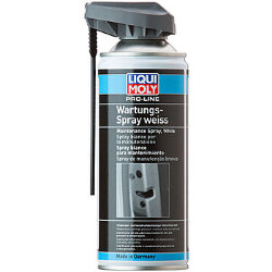 Liqui Moly Pro-Line Wartungs-Spray weiss Грязеотталкивающая белая смазка (0,4 л.) 7387