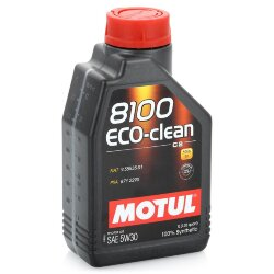 Моторное масло Motul 8100 Eco-Clean 5W-30 (1 л.) 101542
