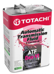 Трансмиссионное масло Totachi ATF Dexron VI (4 л.) 4589904521478