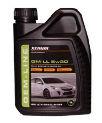 Моторное масло Xenum OEM-Line GM-LL 5W-30 (1 л.) 1235001
