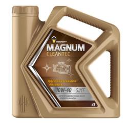 Моторное масло Rosneft Magnum Cleantec 10W-40 (4 л.) 40810042