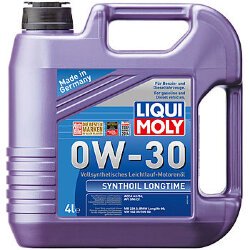 Моторное масло Liqui Moly SynthOil Longtime 0W-30 (4 л.) 7511
