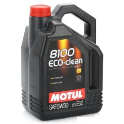 Моторное масло Motul 8100 Eco-Clean 5W-30 (5 л.) 101545