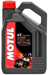 Масло четырехтактное Motul 7100 4T 10W-50 (4 л.) 104098