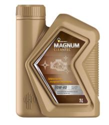 Моторное масло Rosneft Magnum Cleantec 10W-40 (1 л.) 40810032