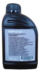 Тормозная жидкость BMW DOT 4 (0,5 л.) 83132405976