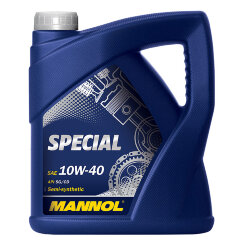 Моторное масло Mannol Special 10W-40 (4 л.) 4022