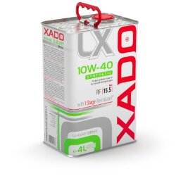 Моторное масло XADO Luxury Drive 10W-40 Synthetic (4 л.) XA 20275_1-XA 20275