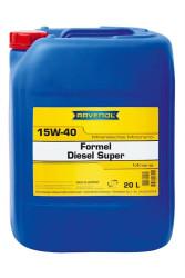 Моторное масло Ravenol Formel Diesel Super 15W-40 (20 л.) 1123215-020-01-999