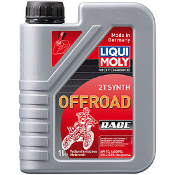 Масло двухтактное Liqui Moly Motorbike 2T Synth Offroad Race (1 л.) 3063