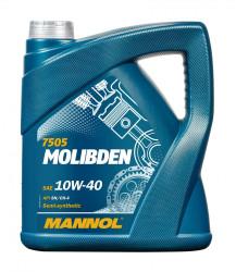 Моторное масло Mannol 7505 Molibden 10W-40 (4 л.) 75054