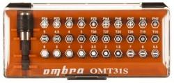 Набор вставок-бит Ombra, 31 предмет OMT31S