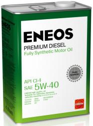 Моторное масло Eneos Premium Diesel 5W-40 CI-4 (4 л.) 8809478943077