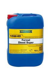 Моторное масло Ravenol Formel Diesel Super 15W-40 (10 л.) 1123215-010-01-999