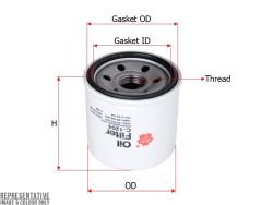 Фильтр масляный Sakura C1204