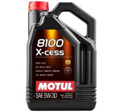 Моторное масло Motul 8100 X-Cess 5W-30 (4 л.) 108945