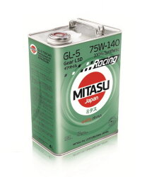 Трансмиссионное масло Mitasu Racing Gear Oil GL-5 75W-140 LSD (4 л.) MJ4144