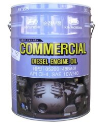 Моторное масло Hyundai (Kia) Commercial Diesel CI-4 10W-40 (20 л.) 05200-48BA0