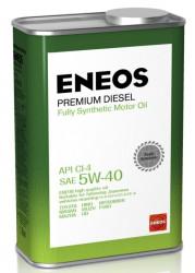 Моторное масло Eneos Premium Diesel 5W-40 CI-4 (1 л.) 8809478943091