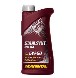 Моторное масло Mannol Stahlsynt Ultra 5W-50 (1 л.) 1015