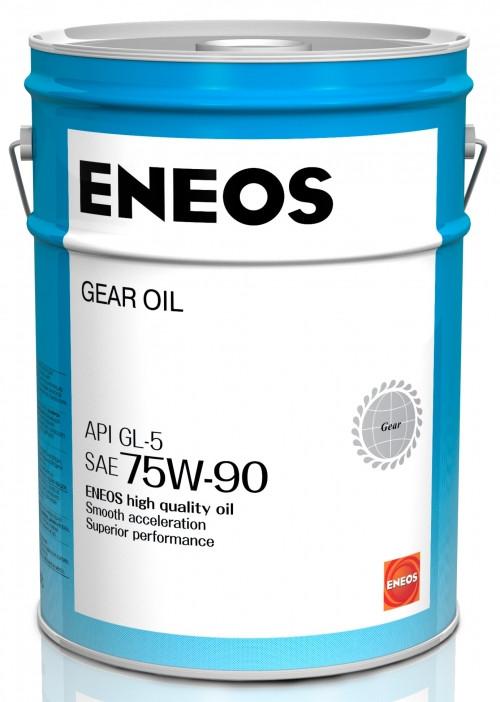 Трансмиссионное масло Eneos Gear Oil 75W-90 GL-5 (20 л.) Oil1369