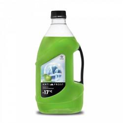 Жидкость стеклоомывающая Grass Green Apple -17C (4 л.) 110309