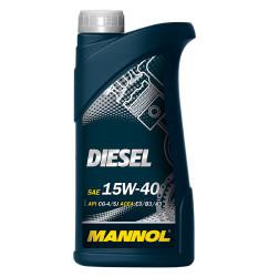 Моторное масло Mannol Diesel 15W-40 (1 л.) 1205