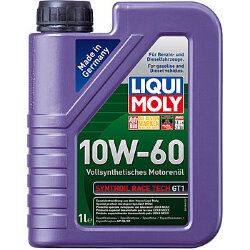Моторное масло Liqui Moly SynthOil Race Tech GT1 10W-60 (1 л.) 1943