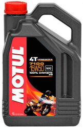 Масло четырехтактное Motul 7100 4T 15W-50 (4 л.) 104299