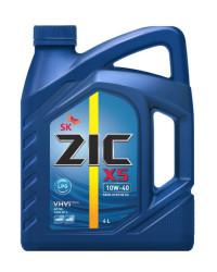 Моторное масло ZIC X5 LPG 10W-40 (4 л.) 162666