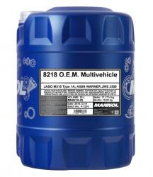 Трансмиссионное масло Mannol 8218 O.E.M. Multivehicle JWS 3309 (20 л.) 3068
