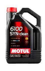 Моторное масло Motul 6100 Syn-Clean 5W-30 (5 л.) 107948