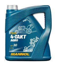 Масло четырехтактное Mannol 4-Takt Agro 7203 SAE 30 (4 л.) 1441
