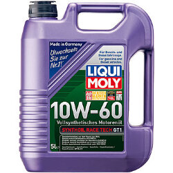 Моторное масло Liqui Moly SynthOil Race Tech GT1 10W-60 (5 л.) 1944