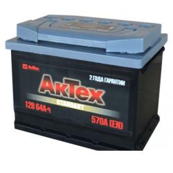Аккумулятор АкТех Standart 64Ah 570A 242x175x190 о.п. (-+) АТST643R