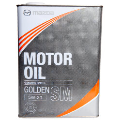 Моторное масло Mazda Golden SM 5W-20 (4 л.) K004-W0-511J